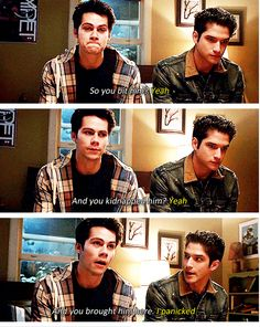 Stiles and Scott! #brothers