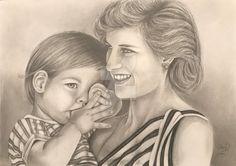 Discover The Secrets Of Drawing Realistic Pencil Portraits Diana, Pencil Portrait, Lady, Pencil Drawings, Bond, Daisy Art, Deviantart, Couple Photos, Artist