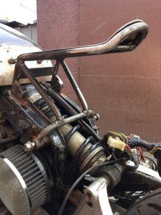 virago-sub-frame-amp-Seat-Pan-Plus-tabs-cafe-racer-1981-750-custom