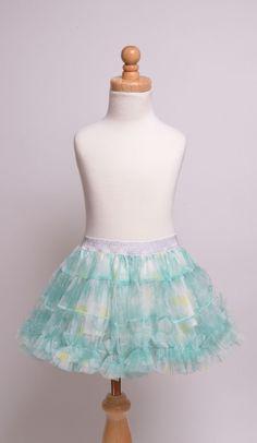 Kids Tulle Ruffle Skirt
