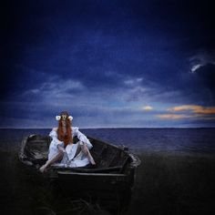 A spontanious selfportrait idea came to mind when i saw this rotten rowboat :D #boat #sea #sailing #shipwrecked #stranded #weddinggown #model #selfportrait #photo #picture #passion #portrait #portfolio #photographer #stubborn #denmark #onlocation #nordic #fineartphotography