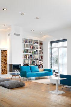 Contemporary Living Room   Source   More