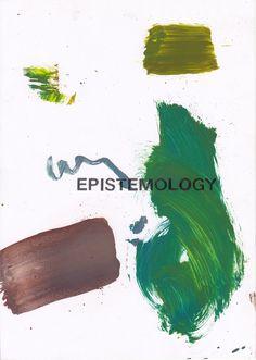 Epistemology  21 x 29.7 cm  Oil & graphite on paper