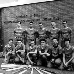 Sharp Merrymakers softball team - 1966