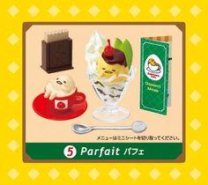 Gudetama Cafe egg restaurant food Re-Ment miniature blind box - Re-Ment Miniature - kawaii shop modeS4u