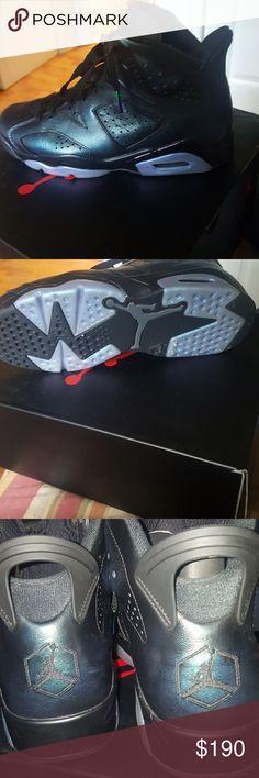 Retro Jordan 6 Worn twice Jordan Shoes Sneakers