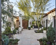 European Garden Retreat | Calvis Wyant Custom Homes Scottsdale AZ