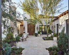 European Garden Retreat   Calvis Wyant Custom Homes Scottsdale AZ