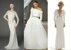 Wedding Dress Trends 2013: Long-Sleeve Wedding Dresses