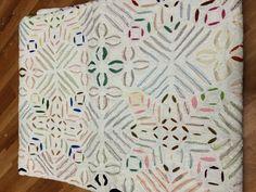 Indian Indigo Blue Kantha Quilt Ikat Gudri-Handmade Quee, Bedspreads Throw Ralli | eBay