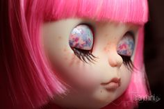 Neo Blythe Simply Guava Doll Base: Neo Blythe Simply Guava Full Custom by Gisele Bianchini For: Rosileine Fernandes Custom Commission Number #100