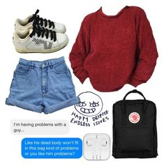 """""""Artsy gal"""" by sunsetsandflowers on Polyvore featuring Vans and Fjällräven"""