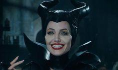 Makeup. .❤ Angelina Jolie in Maleficent, 2014
