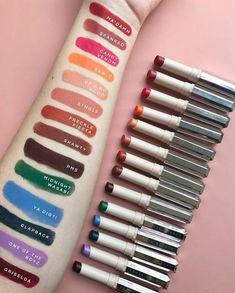 Pinterest: |{·@mariahlkrueger·}| Fenty Beauty Mattemoiselle Lipstick Collection Swatches - Lip Drama
