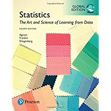 Statistics: the art and science of learning/ Agresti/ QA 276 Agr