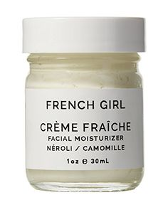 Creme Fraiche Facial Moisturizer from French Girl Organics. Shop vegan, non toxic and cruelty free skincare and beauty on shopplantae.com
