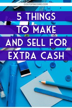 Check out these things to make and sell for extra cash! Make Money Fast, Make Money Blogging, Make Money From Home, Money Tips, Make And Sell, Make Money Online, Finance Quotes, Finance Books, Finance Organization