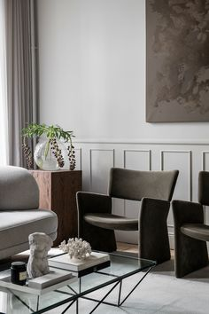 Tour a Chic Stockholm Apartment Filled With Great Designs - Nordic Design Bed With Drawers Underneath, Stockholm Apartment, Warm Colour Palette, Built In Bench, Built In Cabinets, Nordic Design, Classic Elegance, Decoration, Interior Inspiration