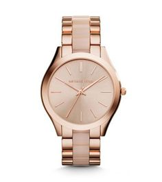 A perennial favorite, our iconic Runway watch gets a slim update just in time for the holidays. We love how the sleek, understated dial reads modern, and in rose gold-tone stainless steel, easily adds a gilded touch to your favorite looks. Stack it with an arm full of sparkling jewelry on off-duty days, or wear it as its own standout piece when you're headed to the office.