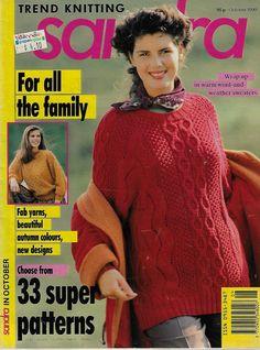 Sandra The Knitting Magazine June 1994