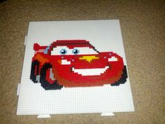 Lightning Mcqueen from Mini-Hama beads for Mieke