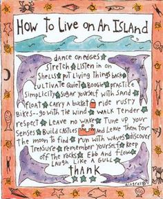 How To Live on an Island