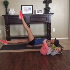 At Home Ab Workout 💪🙌 double tap & tag your partner 👫 perform 12 reps each exercise for a total of 4 sets!