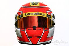 The helmet of Felipe Nasr, Sauber at Australian GP