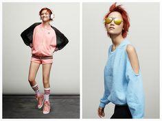 God Save the Queen and all: Rita Ora para Adidas Originals AW14 #ritaora #adidasoriginals #womenswear #aw14