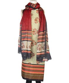 38% discount on Printed Cotton Suit With Dupatta at 99 labels