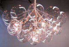 Bubble Chandelier by Pelle Mid Century modern lightning lamps www.delightfull.eu
