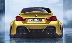 Monaco Auto Design Creates Ultra Wide Body BMW M4