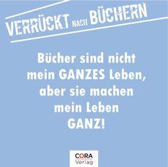 Geht es Dir auch so? #buch http://www.cora.de