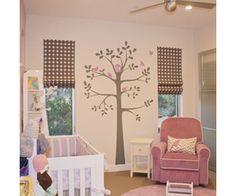 Baby Girl Lavender Bird Nursery