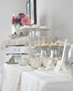 allestimento vintage tea party