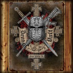'Deus Vult' (God Wills It) -