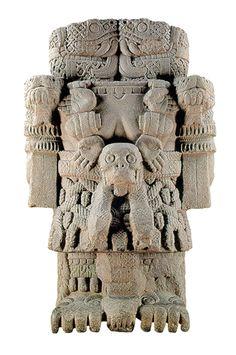 Coatlicue, monolito azteca