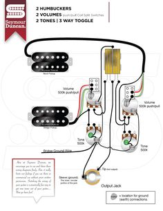 136 Best Electric Guitar Wiring Modifications Images Guitar