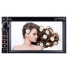 YINUO Quad Core 16GB Android 4.4.4 6.2 inch Universal Multi Touch Screen Car DVD GPS Stereo In Dash Navigation AV Receiver support iPhone Airplay Mirror Link/AM FM Radio/Steering Wheel Control/Bluetooth/3G Wifi Hotspots/OBD2/DVR/AV-IN with Free External Mic