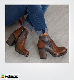 Tronchetti donna con tacco largo e comodo alto 11 cm. Scarpe DONNA stivaletti stivali made in italy . Calzature italiane artigianali adatte per ogni tuo look.