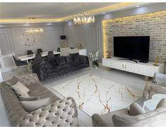 Art Deco Living Room, Living Room Sofa Design, Living Room Decor Cozy, Home Room Design, Formal Living Rooms, New Living Room, Simple Bedroom Design, Living Room Designs, Home Bedroom