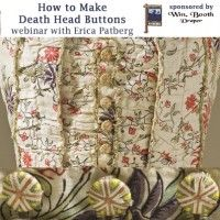 How to Make Death Head Buttons On Demand Web Seminar | InterweaveStore.com