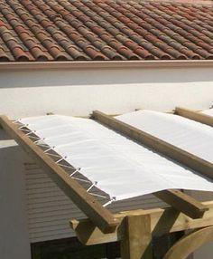 Toile pour pergola on pinterest pergolas abri de terrasse and vasque - Toile tendu terrasse ...