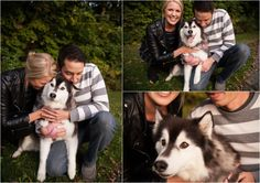 Milwaukee engagement session Wisconsin #fall #dogs #engagement