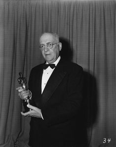 "Technical Creator Willis O'Brien and his Oscar for Special Effects for (""Mighty Joe Young"") in 1949"