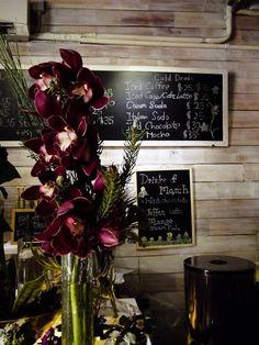 Hong Kong florist cafe