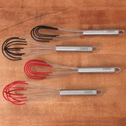 CHEFS Silicone Coated Stainless Steel Whisk Set, 2 piece