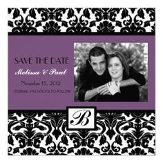 =>quality product          Eggplant Black Damask Swirl Photo Save the Date Custom Announcements           Eggplant Black Damask Swirl Photo Save the Date Custom Announcements lowest price for you. In addition you can compare price with another store and read helpful reviews. BuyThis Deals    ...Cleck Hot Deals >>> http://www.zazzle.com/eggplant_black_damask_swirl_photo_save_the_date_invitation-161145674482698889?rf=238627982471231924&zbar=1&tc=terrest