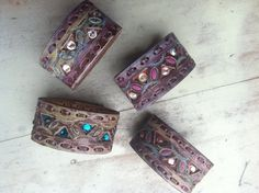 Leather Cuffs Nice and Pretty +dreadstop @DreadStop