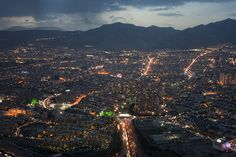 Beautiful aerial shot of Tehran Iran [1024x683] [x-post /r/iran]